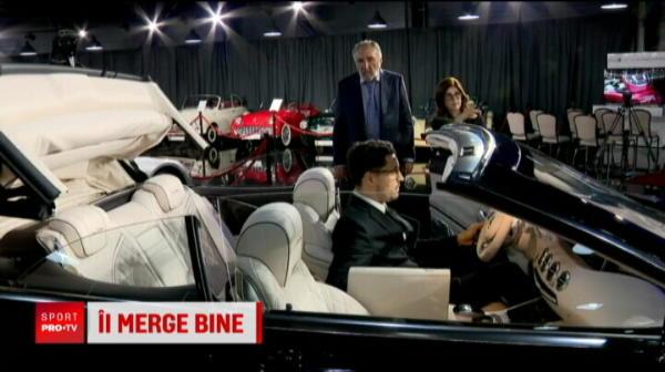 Fabulos! Tiriac este primul posesor din lume al noului bolid Maybach S650 Cabriolet. Cati bani a platit pentru exemplarul editie limitata