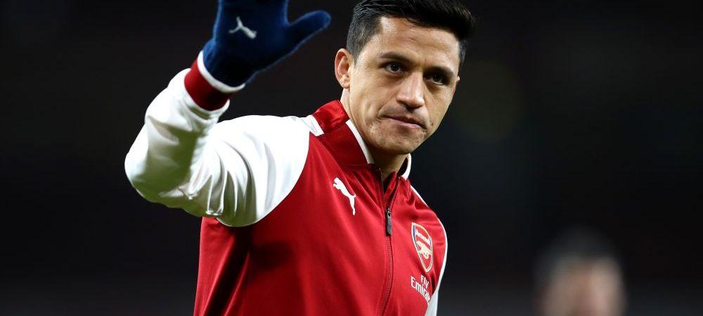 BREAKING NEWS   Alexis, al treilea cel mai bine platit fotbalist al lumii la United; agentul lui Aubameyang negociaza la Londra, iar Everton l-a luat pe Walcott