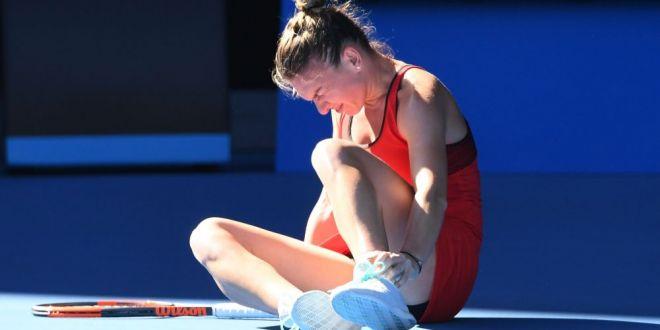 Simona Halep este gata pentru meciul cu Bouchard! Imagini de la antrenamentul de astazi al numarul 1 mondial! VIDEO