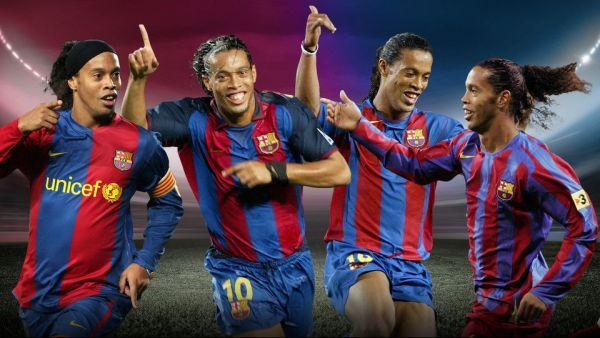 5 momente magice ale lui Ronaldinho la Barcelona. ZEUL fotbalului cu zambetul pe buze, onorat de clubul catalan dupa anuntul retragerii
