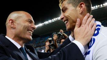 """Cum a reactionat Zidane atunci cand a aflat ca Ronaldo s-a hotarat sa plece de la Real Madrid: """"Nu-mi pot imagina asta"""""""