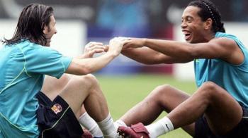 """Ca de la rege la ZEU! Mesajul lui Messi la retragerea lui Ronaldinho: """"Iti voi fi intotdeauna recunoscator"""""""