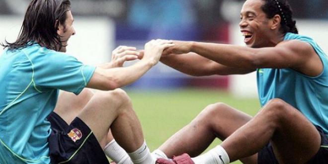 Ca de la rege la ZEU! Mesajul lui Messi la retragerea lui Ronaldinho:  Iti voi fi intotdeauna recunoscator