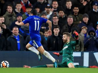 F*** off, Pedro!  Moment socant in Cupa Angliei! Jucatorul lui Chelsea a fost injurat in direct dupa o faza ridicola! VIDEO