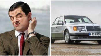 Mr. Bean si-a scos la vanzare masina pe care Mercedes i-a construit-o manual!