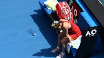 """""""Sunt aproape moarta, muschii mei au disparut!"""" Reactia Simonei Halep dupa victoria ISTORICA de la Australian Open"""