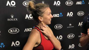"""""""Cel mai bun suporter al meu!"""" Cine a venit s-o urmareasca pe Simona Halep la Australian Open! A pus imediat poza pe net!"""