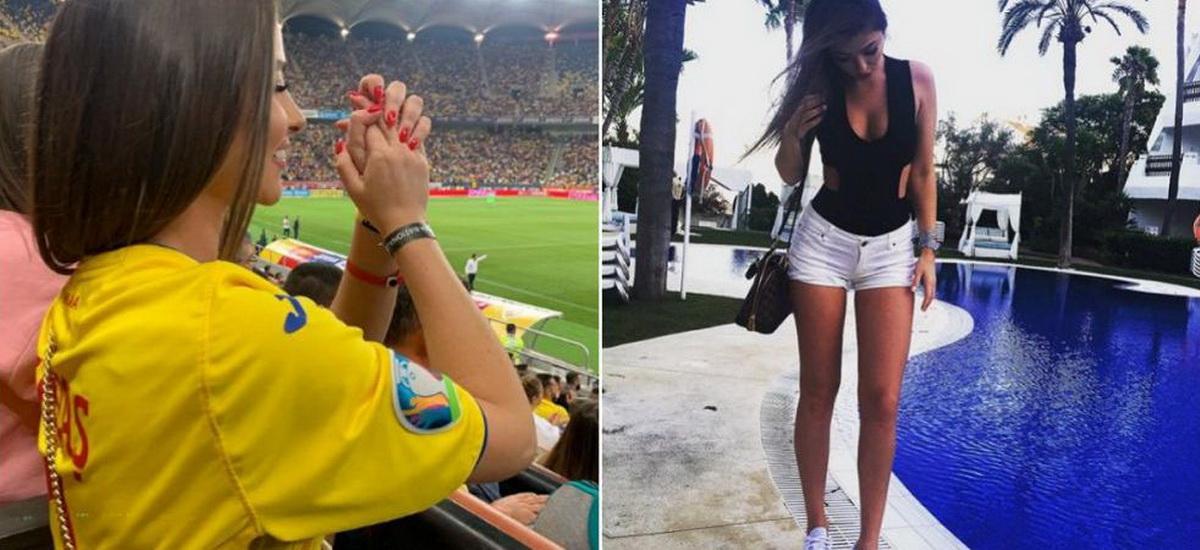 Fata DE mingi ;) Ce jucator a convins-o sa accepte sa mearga impreuna pe teren