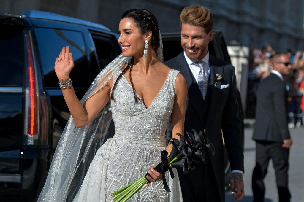 Cât a costat un meniu la nunta faimosului fotbalist Sergio Ramos cu Pilar Rubio