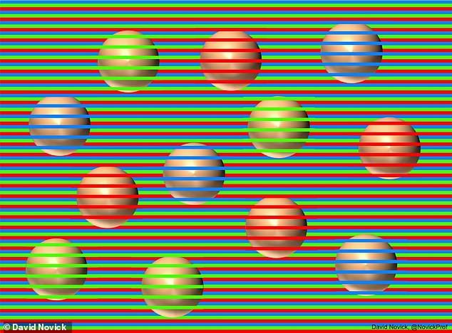 Poți să ghicești ce culoare au sferele? Noua iluzie a uluit internetul