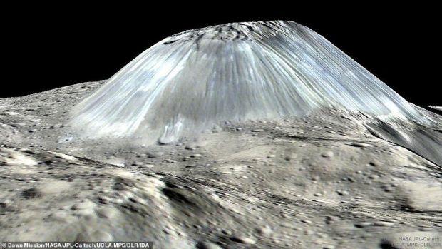 Imaginea incredibilă surprinsă de NASA pe o planetă îndepărtată