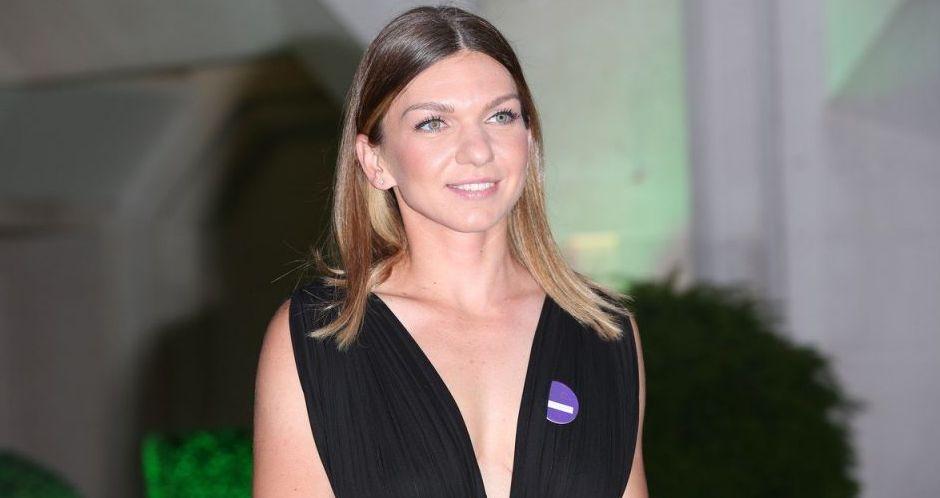 Simona Halep, regina balului la Wimbledon. Ținută sexy a româncei