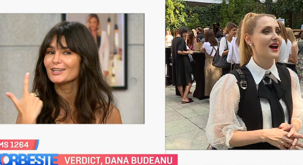 Dana Budeanu o critică pe Alina Sorescu: Numai pulovere ai, ne-ai zăpăcit