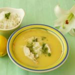 Supa greceasca de pui cu lamaie