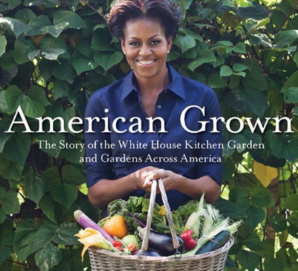 Prima doamna o da in bara. Michelle Obama facuta praf dupa lansarea cartii despre gradinarit