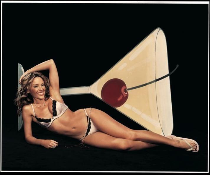 Kylie Minogue, muza pentru un cocktail special