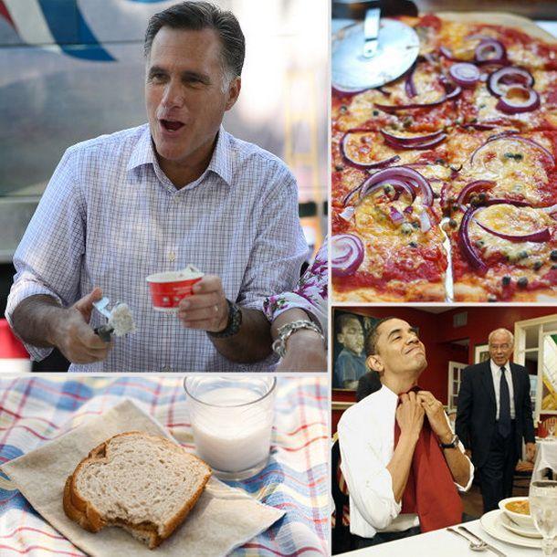 Batalia meniurilor prezidentiale. Intre Obama si Romney ce meniu ai vota?
