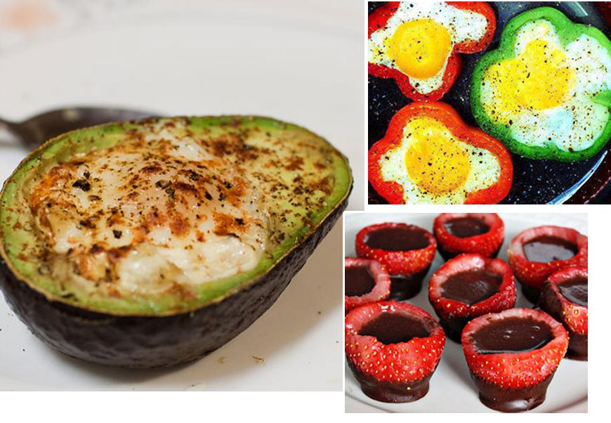 8 feluri de mancare servite in interiorul altor alimente