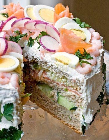 Te-ai gandit ca ai putea manca un tort la aperitiv? Iti dam o reteta sa dai gata invitatii