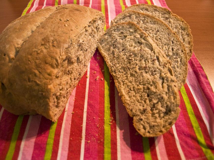 Lectia de gatit. Aluatul de paine facut acasa