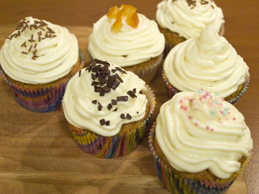 Lectia de gatit: cupcakes