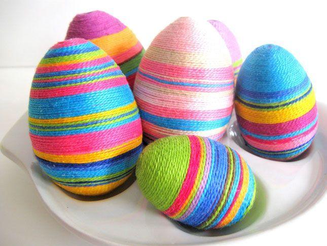 Idei colorate pentru Sarbatori. Cum sa decorezi inedit ouale de Paste FOTO