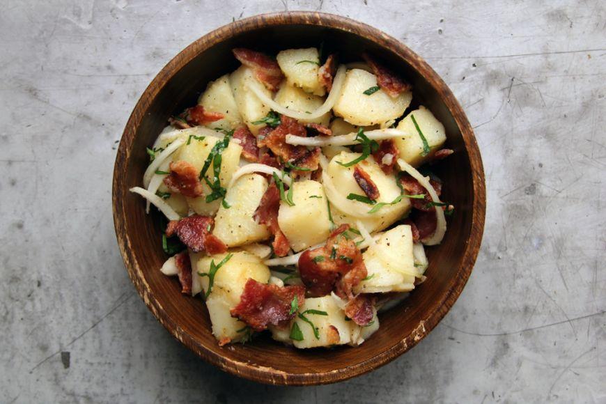 3 salate cu cartofi pentru vara