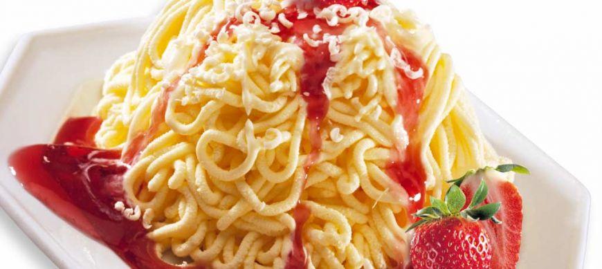 Spaghetti gelato - noua vedeta a deserturilor