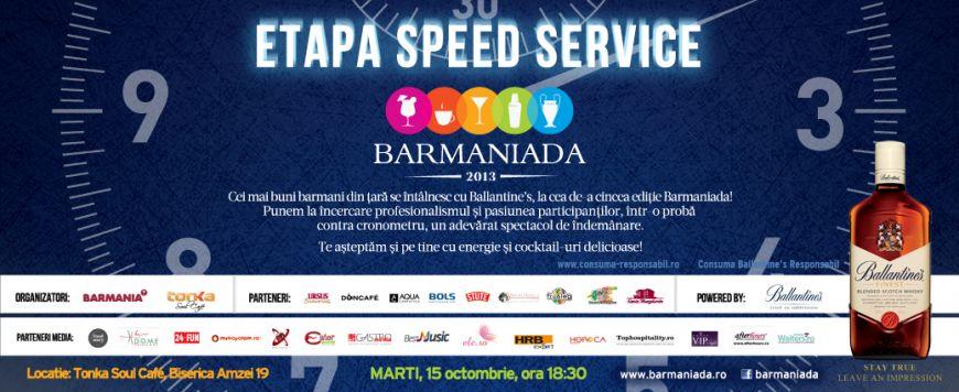 Barmaniada 2013 : cei mai talentati barmani din tara, intr-un adevarat spectacol contra cronometru