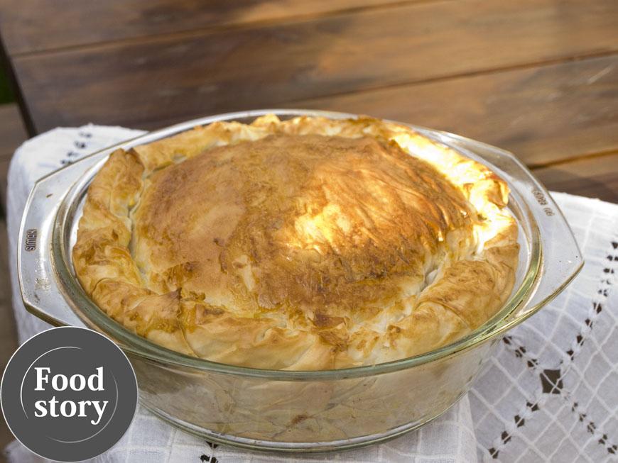 Testat de Foodstory: Placinta cu pui, cartofi si praz