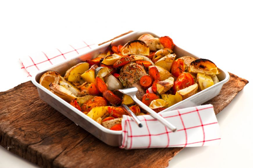 Ghid complet pentru legume la cuptor. Cum sa rumenesti perfect ciuperci, morcovi si cartofi