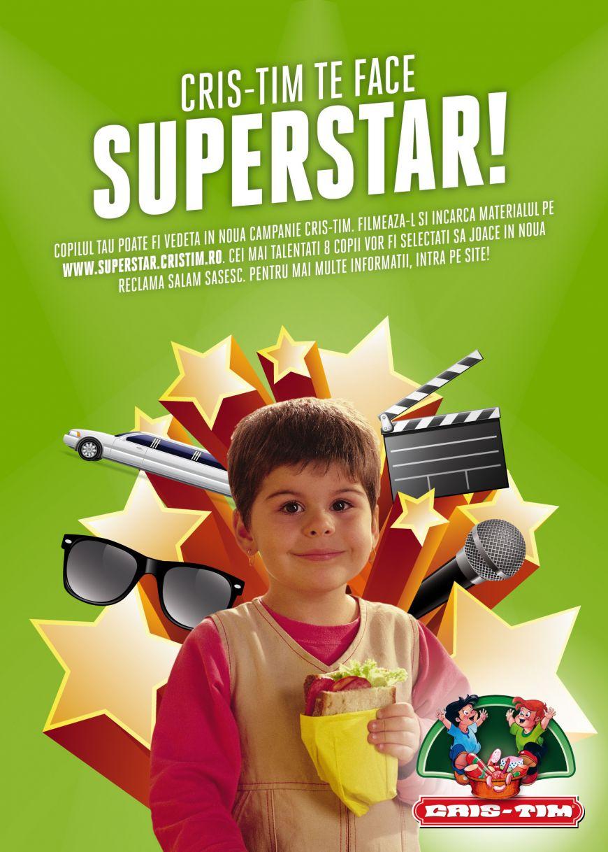 (P) Cris-Tim iti face copilul superstar. Inscrie-l in concurs si poate deveni noua vedeta a campaniei Salam Sasesc