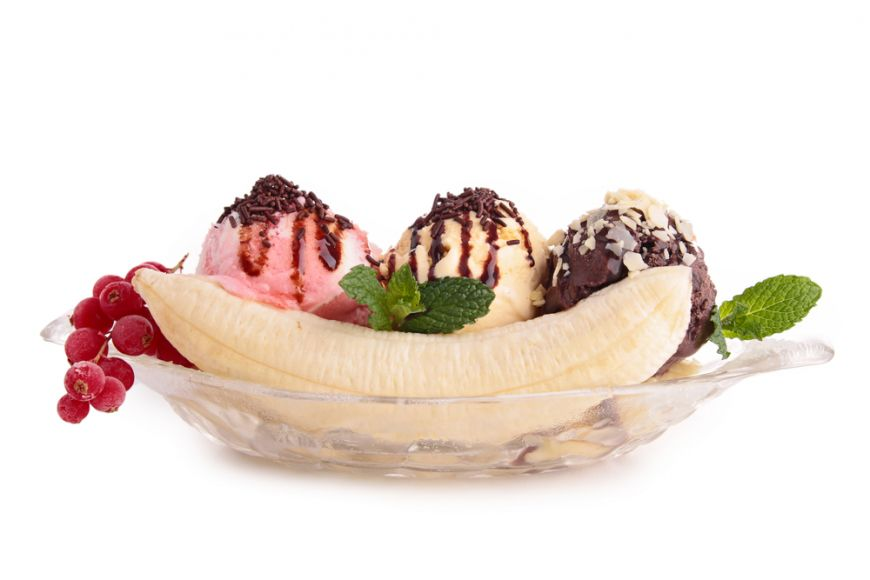 Cum sa faci acasa cel mai bun desert de vara: banana split