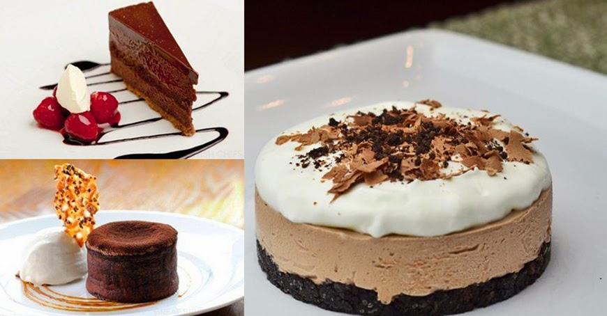 Deserturi cu ciocolata care arata umitor de bine