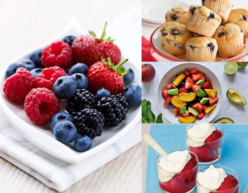 10 retete cu fructe de padure de incercat vara asta