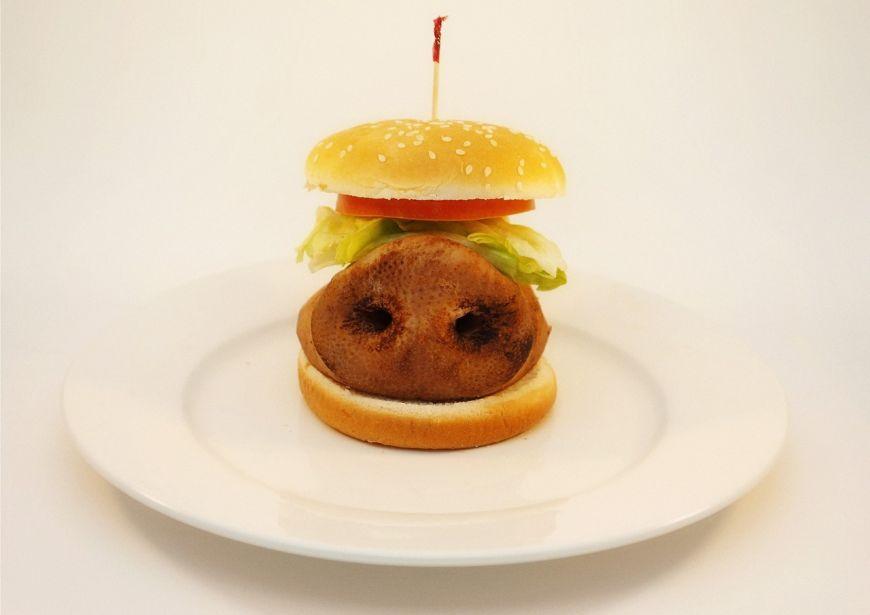 Un fotograf iti arata ce contine in realitate mancarea de la fast food