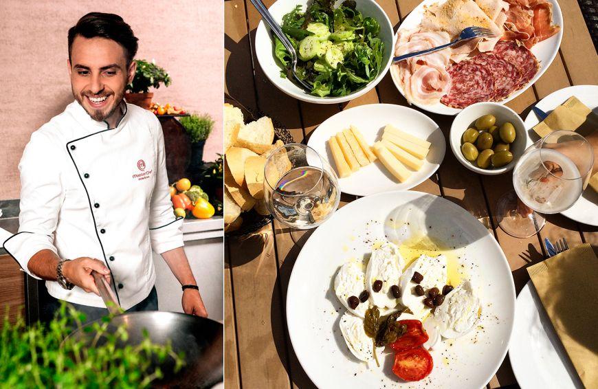 Chef Florin Scripca (FOA), in vacanta prin nordul Italiei si sudul Frantei