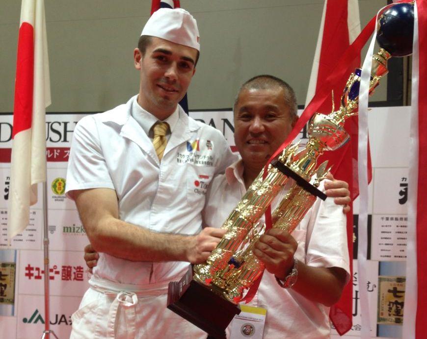 Clujul, alaturi de Japonia, Suedia si America pe podiumul World Sushi Cup 2014