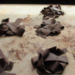 Reteta Greta Rachita: Papardelle de cacao cu sos de gorgonzola si nuci