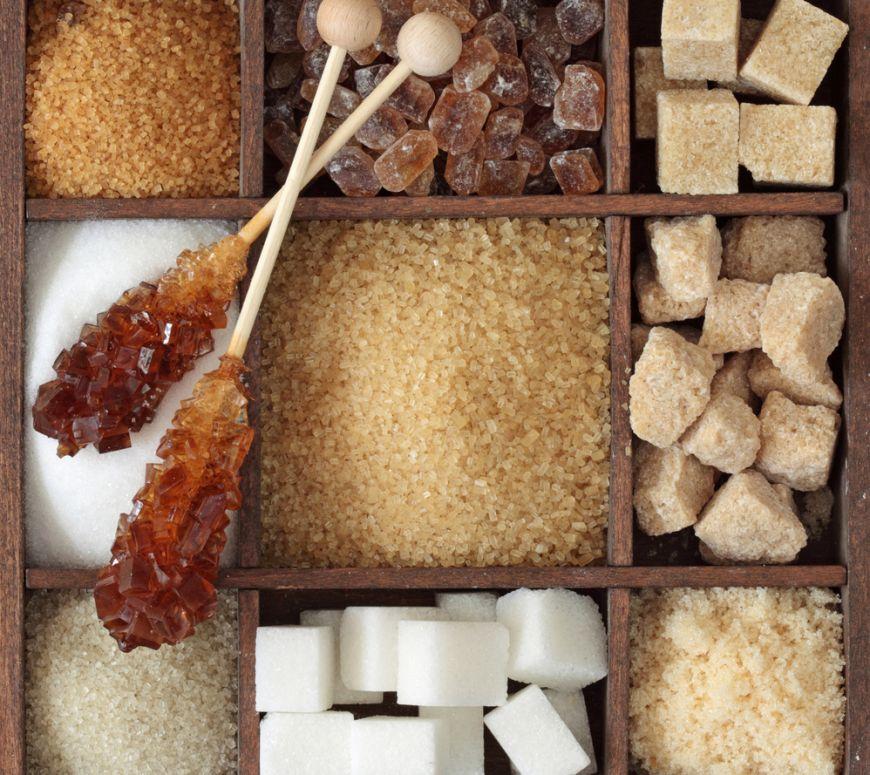 10 tipuri de zahar pe care trebuie sa le stii