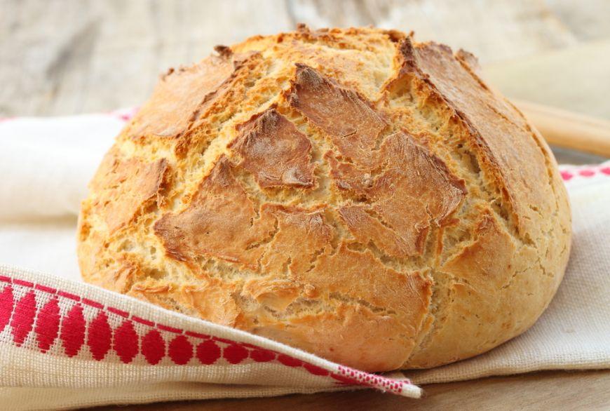 Cea mai simpla reteta de paine facuta acasa. Nu are nevoie de framantare