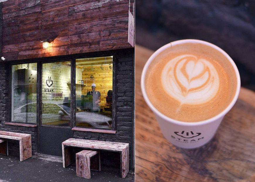 Cum arata cel mai mic coffee shop din Bucuresti. Doi barista cu experienta internationala vand aici cafea de specialitate to-go