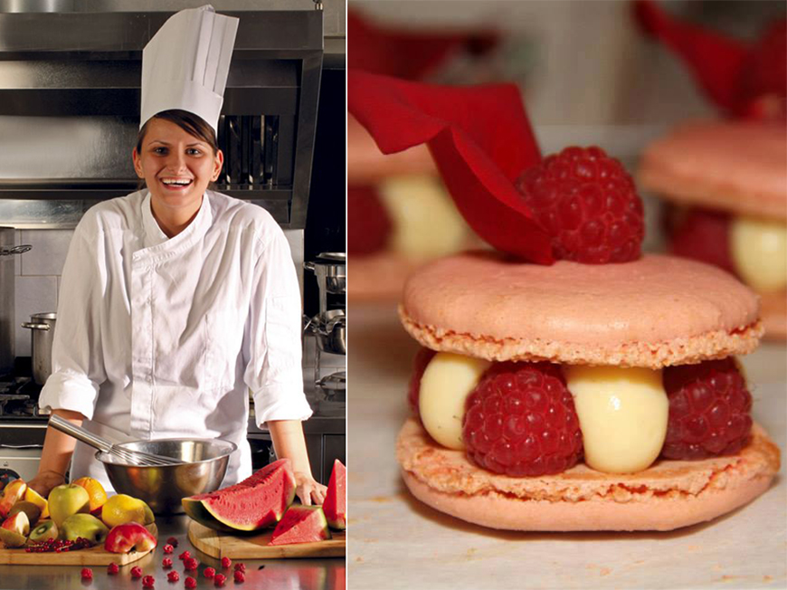 Ana Consulea, expert cofetar, te invata sa faci cel mai bun desert pentru Valentine's Day: Rose-Framboise