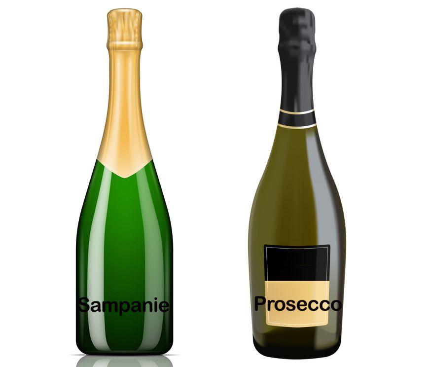 Sampanie vs Prosecco: adevaratele diferente dintre aceste bauturi