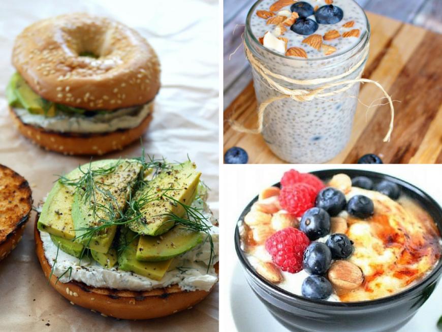 Cele mai sanatoase idei de mic dejun. 7 retete pentru fiecare zi a saptamanii
