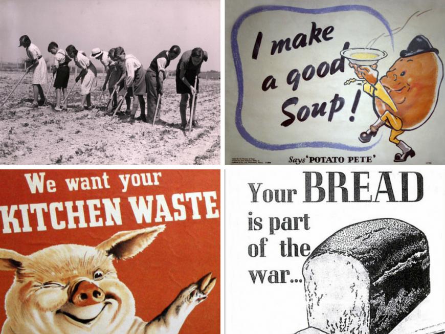 Ce mancau britanicii in timpul celui de-al Doilea Razboi Mondial. Cum erau rationalizate alimentele