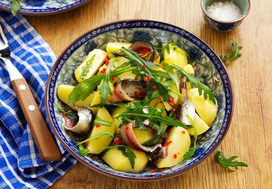 Cum sa faci cea mai buna salata de cartofi