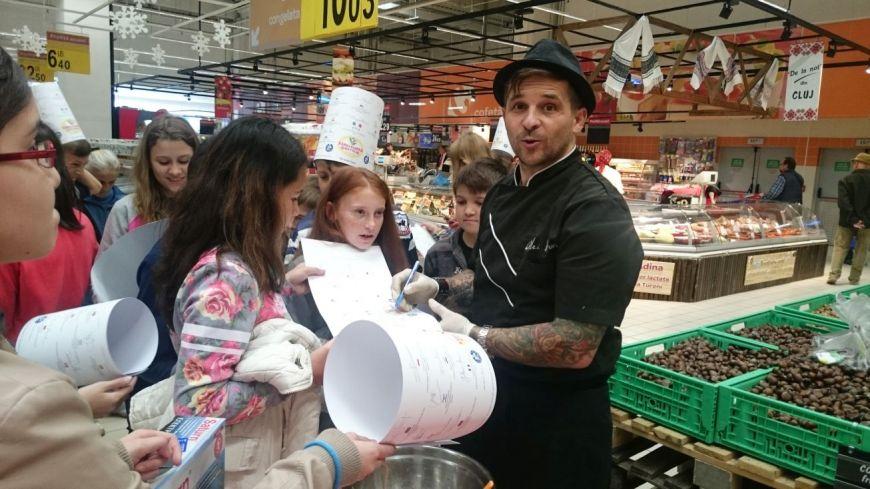 Sarbatoarea Gustului: Ateliere culinare educationale, sustinute de bucatari din toata tara
