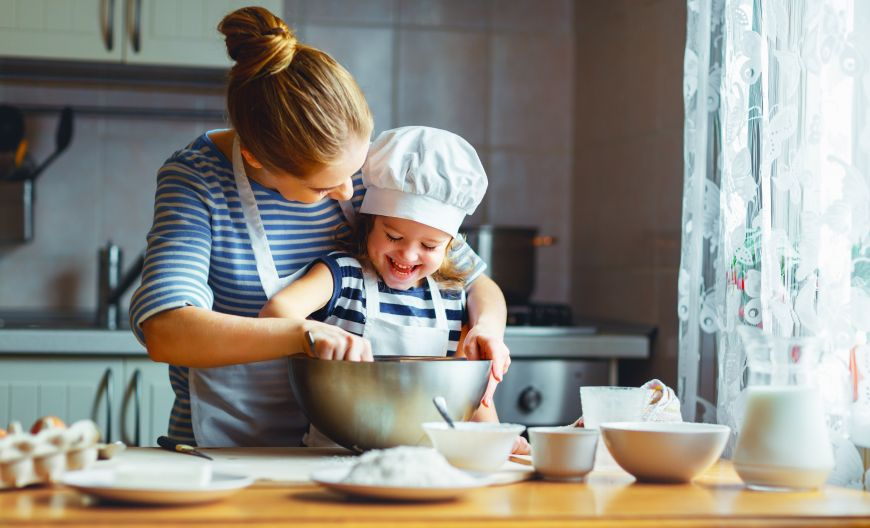 Cum sa gatim cu copiii