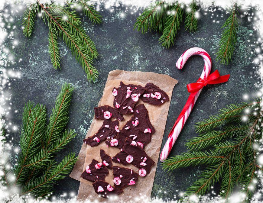 Scoarta de copac din ciocolata – reteta pentru Craciun